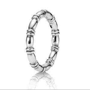 Pandora Barrel Stacking Ring